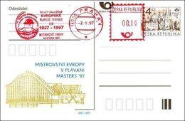Czech Republic 97-07 European Swimming Championships 1997 - Postcard - Swimming
