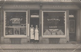 Namur  Droguerie  Antoine Vanlier Rue St Jacques 30 ,Quatre Coins Croqués N'a Pas Circulé - Namen