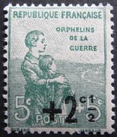 Lot FD/514 - 1922 - AU PROFIT DES ORPHELINS DE LA GUERRE - N°163 NEUF* - France
