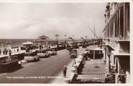 Worthing Parade Looking West - Autobus - Voitures - Automobile - 2 Scans - état - Worthing