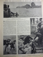 Une Ile Abandonnée Au Bout De Mille Ans , L'ile Saint Kilda 1931 - Historische Dokumente