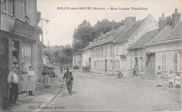 AILLY- Sur- NOYE - Rue Louis Thuillier. - Ailly Sur Noye