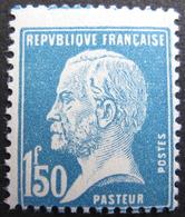 Lot FD/522 - 1923 - PASTEUR - N°181 NEUF** - Cote : 25,00 € - 1922-26 Pasteur