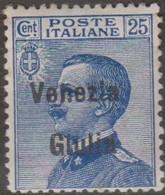 Venezia Giulia 1918 25 Cent.MH - Trieste