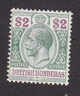 British Honduras, Scott #83, Mint Hinged, George V, Issued 1913 - British Honduras (...-1970)
