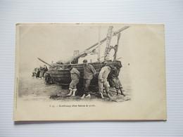 CPA RENFLOUAGE D'UN  BATEAU DE PECHE - Pêche