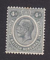British Honduras, Scott #96, Mint Hinged, George V, Issued 1922 - British Honduras (...-1970)