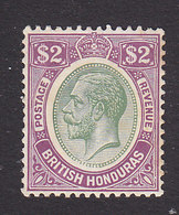 British Honduras, Scott #102, Mint Hinged, George V, Issued 1922 - British Honduras (...-1970)