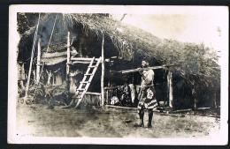 TAHITI - POLYNESIE FRANCAISE- -Une Case De Pecheur - Recto Verso- Paypal Sans Frais - Polynésie Française
