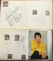 HERB ALBERT & THE TIHUANA BRASS Band Autograph München Concert Nov 1969 (music Memorabilia Autographe Musique - Autógrafos