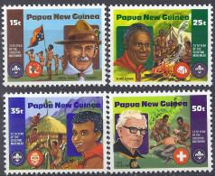 PAPOUASIE NOUVELLE-GUINEE - 75e Anniversaire Du Scoutisme - Papouasie-Nouvelle-Guinée