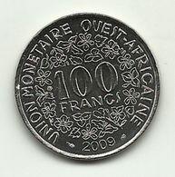 2009 - West Africa 100 Francs, - Monete