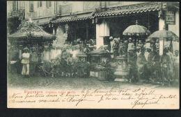 SINGAPORE - SINGAPOUR- - Chinese Funer Party - Voyagée Bateau 1905- Recto Verso - Paypal Free - Singapour