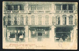SINGAPORE - SINGAPOUR-  Chinese Dwelling House -  Voyagée  1905- Recto Verso - Paypal Free - Singapour
