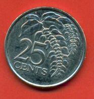 Trinidad & Tobago 2007. 25 Cent. - Trinidad & Tobago