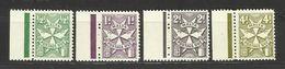 1967 Malta SEGNATASSE  POSTAGE DUE Serie Di 4 Valori (27/30) MNH** - Malta