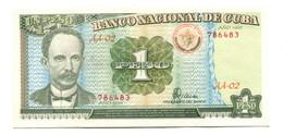 1995 Cuba UNC 1 Peso Banknote - Cuba