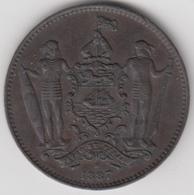 @Y@    Brits North Borneo   1 Cent  1887 H   (2802) - Malasia