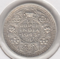 @Y@    Brits India   1/4  Rupee   1943      (2786) - Inde
