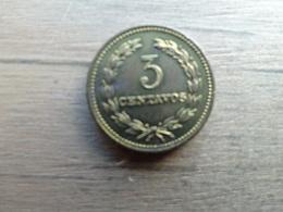 El Salvador  3  Centavos  1974  Km 148 - Salvador