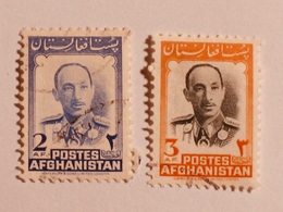 AFGHANISTAN  1951-57  Lot # 1 - Afghanistan