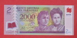 Paraguay / 2000 Guaranies  2011   / NEUF - Paraguay