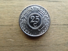 Antilles  Neerlandaises    25  Cents  2014  Km !!! - Antilles Neérlandaises