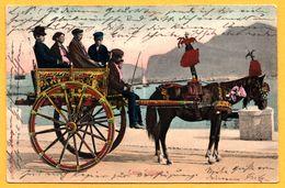 Transport - Carro Siciliano - Calèche - Animée - STENGEL & Co - 1904 - Colorisée - Other