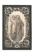 819. MARIA-ELISABETH MARSCHAL Wed. L. Eggen - +HEERS 1862 (88j.) - Images Religieuses
