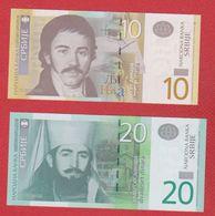 Serbie  / 10 Et 20 Din /   2013 Et 2011 / NEUF - Serbie