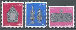 Algérie YT N°776/778 Orfèvrerie Des 18° Et 19° Siècles Neuf ** - Algeria (1962-...)