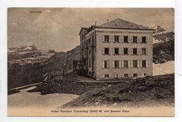 - CPA Hôtel-Pension Torrentalp 2440 M. Mit Gemmi-Pass (Suisse) - - BE Berne