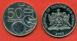 Trinidad & Tobago 2003. 50 Cent.UNC. - Trinidad & Tobago