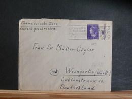74/388   BRIEF NED.  NAAR DUITSLAND  1947 - Periode 1891-1948 (Wilhelmina)