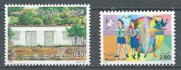 Algérie YT N°769-770 Congrès De La Soummam - Scoutisme Neuf ** - Algeria (1962-...)