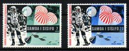 SAMOA. N°249-50 De 1969. L'Homme Sur La Lune. - Space