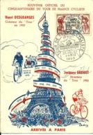 TOUR De FRANCE CYCLISTE -Cinquantenaire -1953- - 1950-59