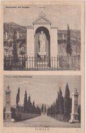 A156  SIGILLO PERUGIA MADONNA DEL GRAPPA E PARCO DELLA RIMEMBRANZA 1941 - Perugia