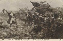 Tableaux -ref A13- Arts - Tableau -peinture - Peintre R Desvarreux  -guerre - Militaires -militaria -jemmapes - - Otras Guerras