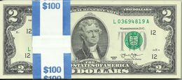 UNITED STATES - 50 X 2 DOLLARS - 2013 - FROM MINT - SEE PHOTOS. - Federal Reserve Notes (1928-...)