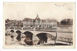 BESANCON  (cpa 25)  Pont Canal Et Cité Universitaire  -    - L 1 - Besancon