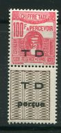 TUNISIE- Taxe Y&T N°58- Neuf Avec Charnière * - Timbres-taxe