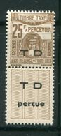 TUNISIE- Taxe Y&T N°56A- Neuf Avec Charnière * - Timbres-taxe