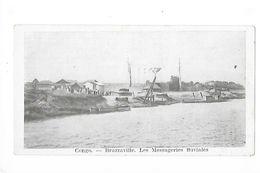 CONGO - BRAZAVILLE   Les Messageries Fluviales  -    - L 1 - Brazzaville