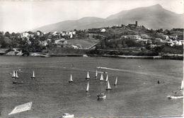 64. Ciboure Socoa. Vue Sur La Baie De Saint Jean De Luz. Cpsm Petit Format - Ciboure