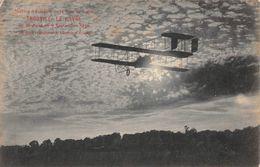 TROUVILLE-LE HAVRE - Meeting D'aviation Du 25 Août Au 6 Sept 1910 - Biplan Regagnant Le Champ D'aviation - Trouville