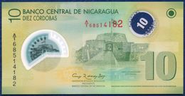 NICARAGUA 10 CORDOBAS P-201b CASTLE OF THE IMMACULATE CONCEPTION 2007 UNC - Nicaragua