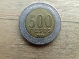 Chilie  500  Pesos  2003  Km 235 - Chile