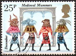 GREAT BRITAIN 1981 Folklore: 25p Medieval Mummers - 1952-.... (Elizabeth II)