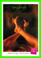 ADVERTISING - PUBLICITÉ - CARTE-WALLACE INC - TROJAN CONDOM - MOINS DE RISQUES, PLUS DE PLAISIR - ZOOM CARDS - - Publicité